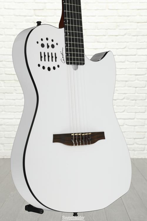 Godin MultiAc Nylon SA - White image 1