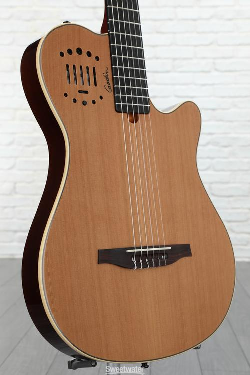 Godin MultiAc Grand Concert Duet Ambiance - Natural High-gloss image 1