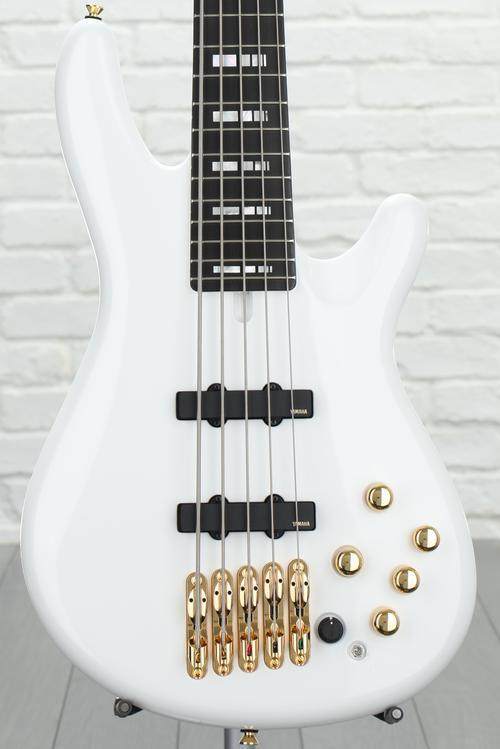 Yamaha BBNE2 Nathan East Signature Bass - White
