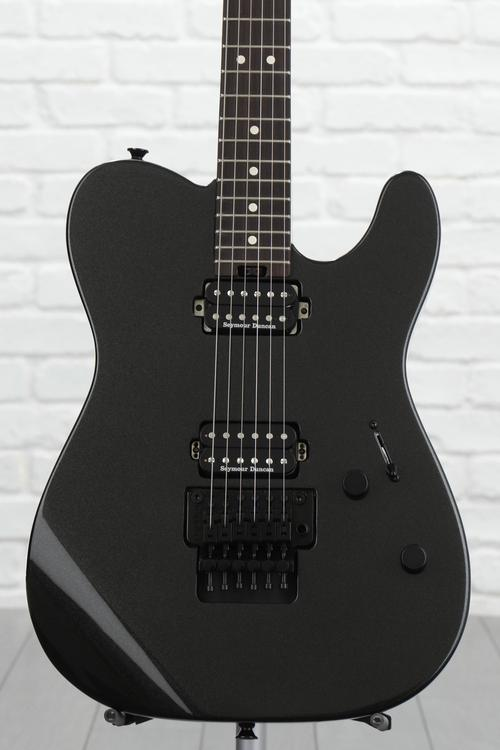Charvel Pro-Mod San Dimas Style 2 HH Floyd Rose - Metallic Black with Rosewood Fingerboard