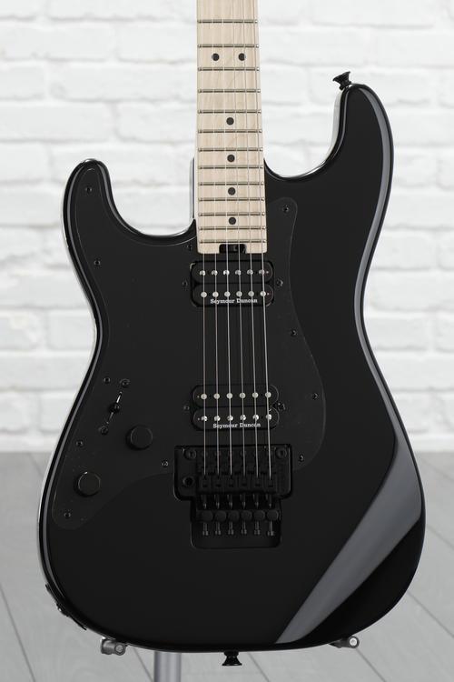 Charvel Pro-Mod So-Cal Style 1 HH, Floyd Rose Left-handed - Black