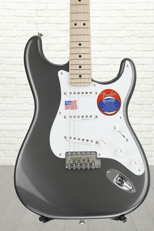 Fender Eric Clapton Stratocaster - Pewter with Maple Fingerboard image 1