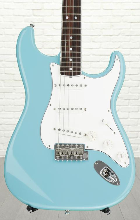Fender Eric Johnson Stratocaster - Tropical Turquoise with Rosewood Fingerboard
