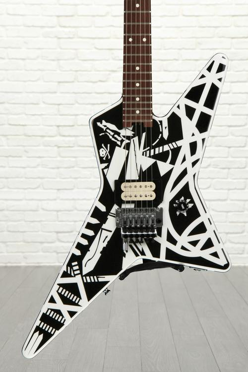 EVH Stripe Series Star - Black and White image 1
