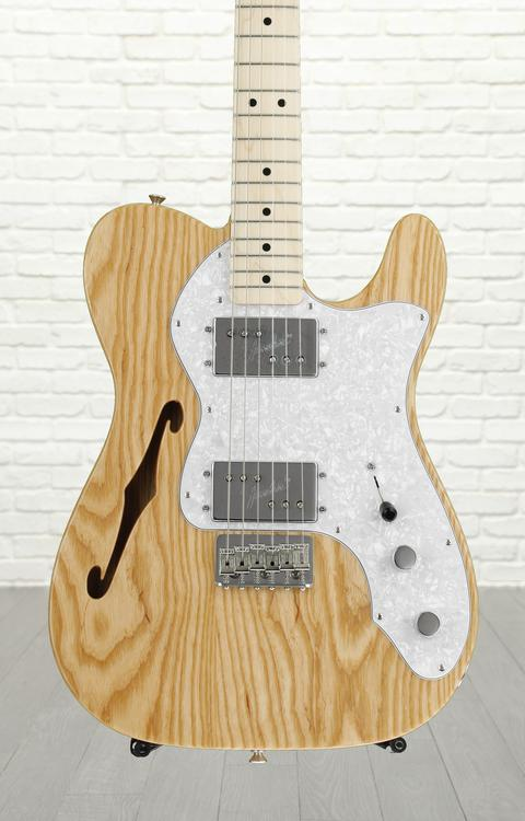 Fender Classic Series \'72 Telecaster Thinline - Natural, Maple fingerboard image 1