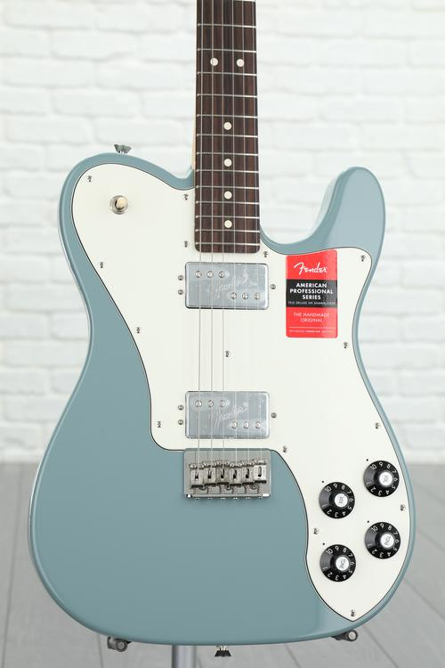 Fender American Professional Deluxe ShawBucker Telecaster - Sonic Gray with Rosewood Fingerboard