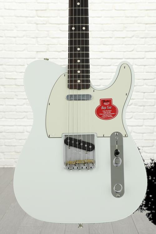 Fender Classic Player Baja '60s Telecaster - Faded Sonic Blue with Rosewood Fingerboard