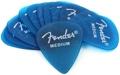 Fender California Clears Pickpack - Medium - Lake Placid Blue - 12-Pack