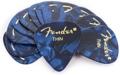 Fender 351 Premium Guitar Picks - Thin Blue Moto - 12-Pack