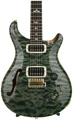 PRS Wood Library 408 Semi-hollow - Trampas Green with Rosewood Neck