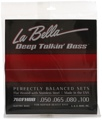 La Bella 760FHBB Beatle Bass Flatwound Bass Strings - Standard