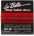 La Bella 767-6F Bass VI Strings - Flatwound