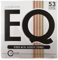 Cleartone EQ Acoustic Guitar Strings - .012-.053 Light