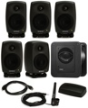 Genelec 8320.LSE Surround SAM 5.1 Powered Studio Monitor System with Subwoofer