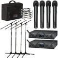 Audio-Technica System 10 PRO 4-pack Handheld Wireless Bundle