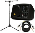 Behringer B205D Compact Monitor with Stand and Cables