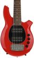 Ernie Ball Music Man Bongo 6 HH, Sweetwater Exclusive - Chili Red w/Black Pickguard