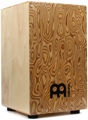 Meinl Percussion Traditional String Cajon - Makah-Burl Frontplate with Gig Bag