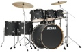 Tama Superstar Classic 7-piece Shell Pack - Limited-edition Galaxy Matte Black w/Black Nickel Hardware