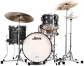 Ludwig Classic Maple Downbeat 20 Shell Pack - Vintage Black Oyster Pearl