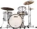 Ludwig Classic Maple Fab 22 Shell Pack - Silver Sparkle