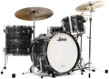 Ludwig Classic Maple Fab 22 Shell Pack - Vintage Black Oyster Pearl