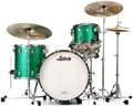 Ludwig Classic Maple Fab 22 Shell Pack - Green Sparkle