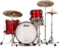 Ludwig Classic Maple Fab 22 Shell Pack - Red Sparkle
