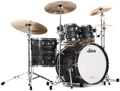 Ludwig Classic Maple Mod 22 Shell Pack - Vintage Black Oyster