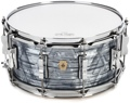 """Ludwig Classic Maple Snare Drum with P86 Throw Off - 6.5""""x14"""" - Sky Blue Pearl"""