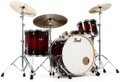 Pearl Decade Maple Shell Pack - 3pc - Redburst