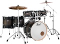 Pearl Decade Maple Shell Pack - 7pc - Satin Blackburst