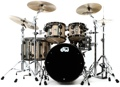 DW Collector's Series Exotic Maple/Mahogany Shell Pack - 5-pc - Dragonwood