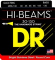 DR Strings MR6-130 Hi-Beam Stainless Steel Medium 6-String Bass Strings