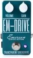 Emerson Custom EM-Drive Transparent Overdrive Pedal