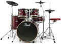 Pearl E-Pro Powered by Export 5-pc Electronic Drum Set Fusion - Red Wine