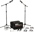 Sennheiser EW G3 Complete Wireless Handheld and Lavalier Microphone Package