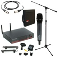 Sennheiser EW 135 G3 Handheld Wireless Microphone System with Case, Stand, and Cable