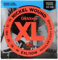 D'Addario EXL110W Nickel Wound Light (wound 3rd) Electric Strings
