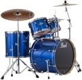 Pearl Export EXX 5-piece Drum Set with Hardware Fusion Configuration- Electric Blue Sparkle