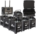Chauvet DJ Freedom Par Quad-4 RGBA Wireless Par 6-Pack