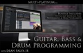 Multi Platinum Guitar, Bass, and Drum Programming Bundle Interactive Course