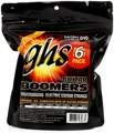 GHS GBL-5 Guitar Boomers Roundwound Light Electric Guitar Strings 6-Pack