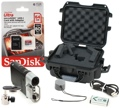 Sony HDR-MV1 Starter Package w/ SD Card, Mount, Case
