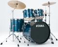 Tama 2016 Imperialstar Complete Drum Set - 5-piece - Hairline Blue