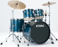 Tama Imperialstar Complete Drum Set - 5 piece - Hairline Blue