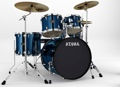 Tama Imperialstar Complete Drum Set - 5-piece - Midnight Blue