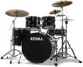 Tama Imperialstar Complete Drum Set With Bonus Pack 5-piece - Black