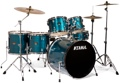 Tama Imperialstar Complete Drum Set - 6 piece - Hairline Blue