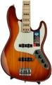 Fender American Elite Jazz Bass - Tobacco Sunburst, Maple Fingerboard